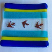 Three birds dish
