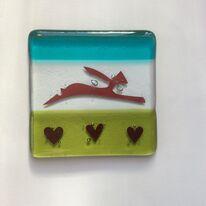 hare and hearts coaster