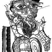 One decorative Head