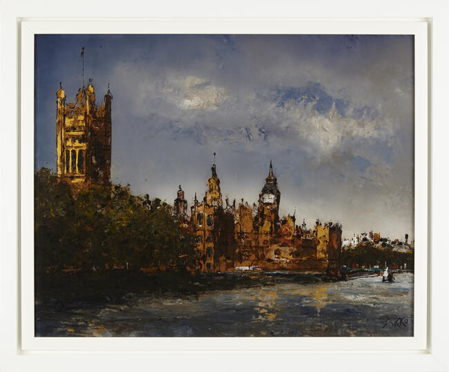 Westminster from lambeth bridge