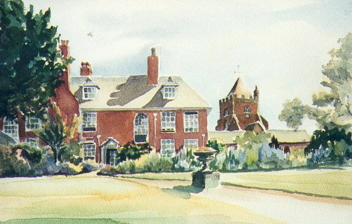 Wrockwardine Hall, Shropshire.