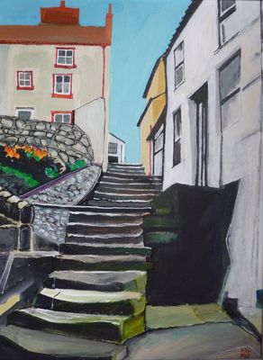 steps from High Barrass: Staithes