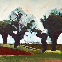 Four Trees and a Hedge: Metton