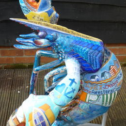 Lobster for Sheringham and Cromer Crab and Lobster Festival commissioned by Tourist Information Centre