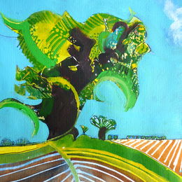 'Green Tree: Ploughed Field'
