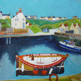 'Red Boat: St Abbs'