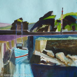 'Blue Boat : St.Abbs Harbour :2'