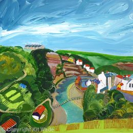 Down the Beck : Staithes