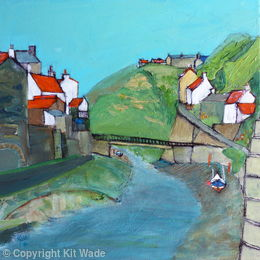 Up the Beck: Staithes