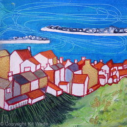 Staithes and Harbour from Lining Garth