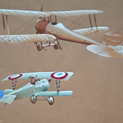 BS1 and Nieuport Scout