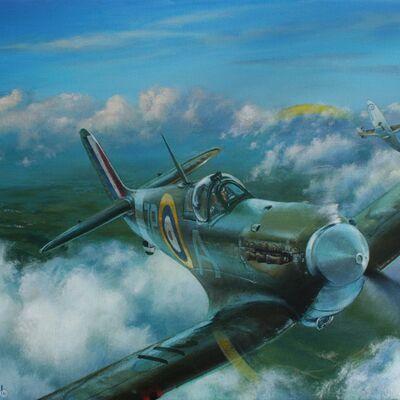 Spitfires of 74 (Tiger) Squadron 1941