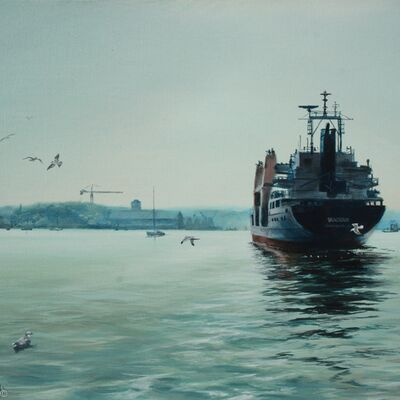 Shipping on the River Medway