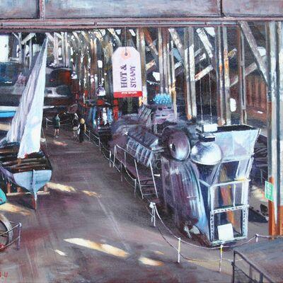 Inside No 3 slipway, The Historic Dockyard, Chatham
