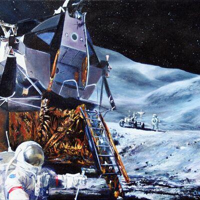 Apollo 15 on the Moon, July 1971
