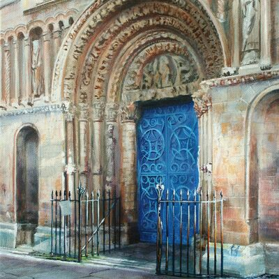 Rochester Cathedral, Norman Door