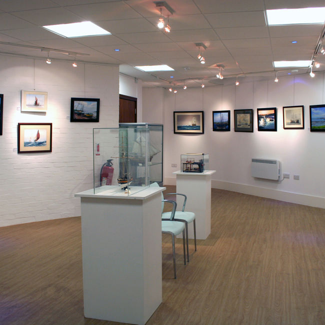 Marine show at the Blake Gallery Gravesend
