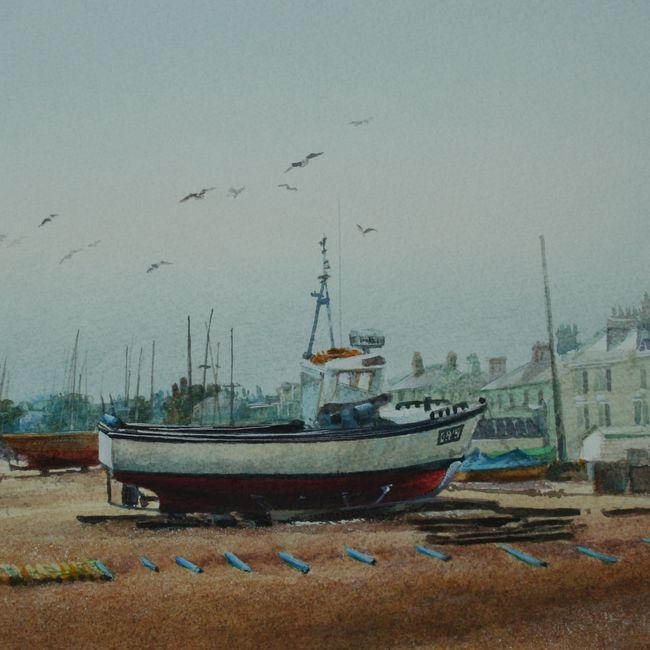Fishingboats at Deal