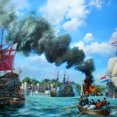 The Battle at Upnor