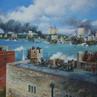 The Dutch arrive at Upnor