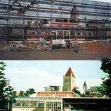 Shazam Mural Warner Bros Themepark