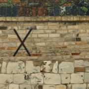 Garden Wall, Peterhouse, Cambridge.