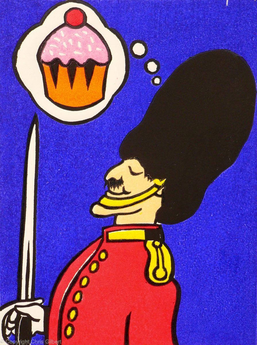 Cupcake Guardsman