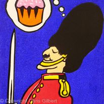 Cupcake Guardsman