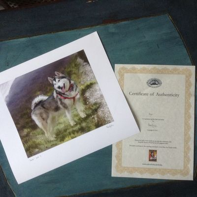 Print and certificate