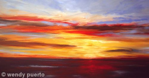 Sunset Horizon SOLD