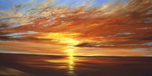 Commission Sunset  Painting
