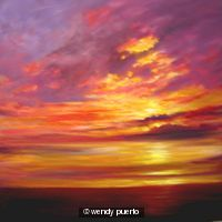 Sunlit Clouds SOLD
