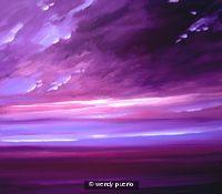 Damson  Plum Skies SOLD