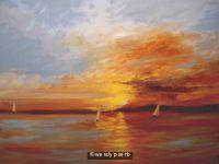 impressionist-sunset print
