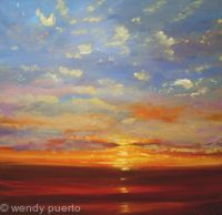 Sky Sun and Sea