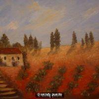 A Tuscan Vinyard