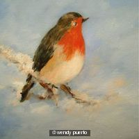 Robin Redbreast in the Snow