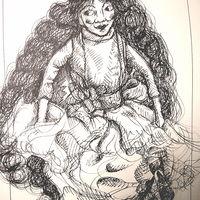 Rachel Larkin Puppet