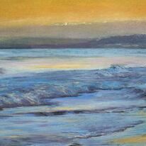 Sunset, Boscombe Beach