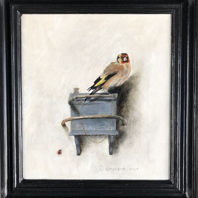 The Goldfinch, after Fabritius - oil