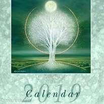 Trees calendar 2019