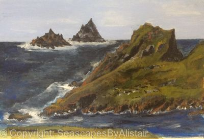 Skellig Is Co Kerry Ireland-BEING FRAMED