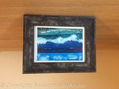 Wave on beach (Wave #5) -SOLD