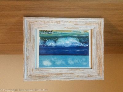 Waves on beach (wave#4) - SOLD