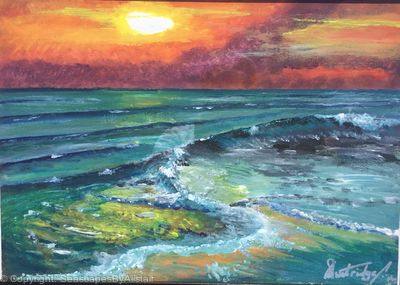 NEW -Doonbeg beach Co Clare At Sunset - BEING FRAMED