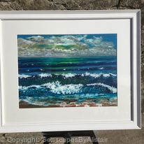 Sunset on Ireland's seashore - SOLD