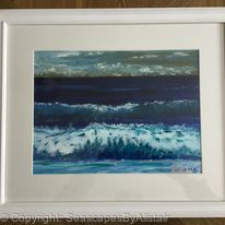Beach Waves #17 -SOLD