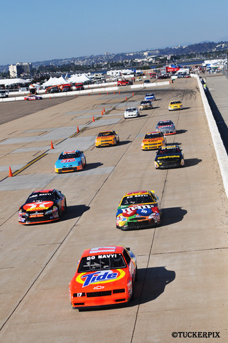 New furthermore Kyle Busch also Aric Almirola Crash At Kansas Speedway further Bob 23 Car furthermore 1967 atlanta 500. on 3 nascar cars
