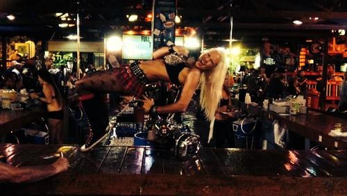 Full Throttle Saloon bartender