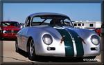 Vintage Porsche race car